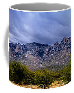 Coffee Mug featuring the photograph Catalina Mountains P1 by Mark Myhaver