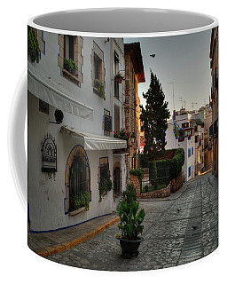 Coffee Mug featuring the photograph Catalonia - The Town Of Sitges 003 by Lance Vaughn