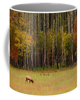 Cataloochee Valley Elk Coffee Mug