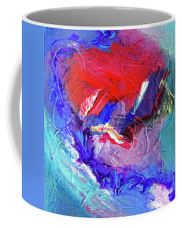 Coffee Mug featuring the painting Catalyst by Dominic Piperata