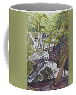 Catawba Falls - Working Notes Coffee Mug by Joel Deutsch