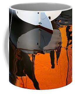 Catboat Reflection Coffee Mug