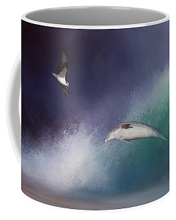 Catch A Wave Coffee Mug