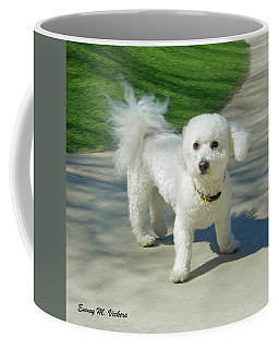 Catch Me If You Can Mommy Coffee Mug by Emmy Marie Vickers