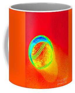 Heat Map Baseball Catch Me If You Can Coffee Mug