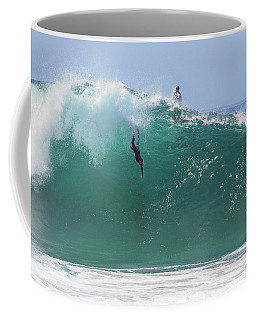 Catch Me Coffee Mug by Joe Schofield
