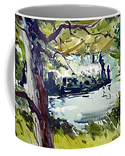 Catching Summer Dreams Framed Matted Glassed Coffee Mug