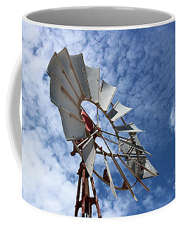 Coffee Mug featuring the photograph Catching The Breeze by Stephen Mitchell