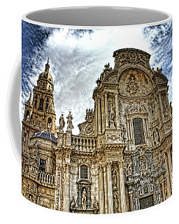 Catedral De Murcia Coffee Mug by Angel Jesus De la Fuente
