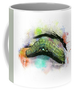 Caterpillar Drawing Coffee Mug