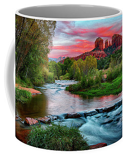 Cathedral At Sunset Coffee Mug