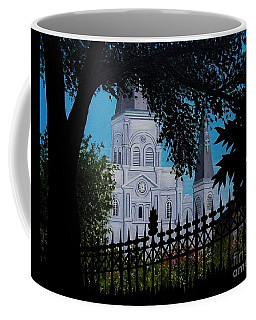 Cathedral At The Square Coffee Mug