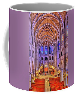 Coffee Mug featuring the photograph Cathedral Basilica Of The Sacred Heart Newark Nj II by Susan Candelario