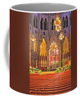 Coffee Mug featuring the photograph Cathedral Basilica Of The Sacred Heart Newark Nj by Susan Candelario