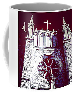 Cathedral In Archangel Glow Coffee Mug