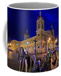 Cathedral Of Granada Shines Brightly Coffee Mug