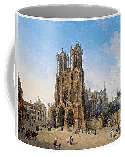Cathedral Of Notre-dame At Reims Coffee Mug