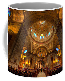 Cathedral Of St Paul Wide Interior St Paul Minnesota Coffee Mug