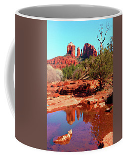 Coffee Mug featuring the photograph Cathedral Reflections by Howard Bagley