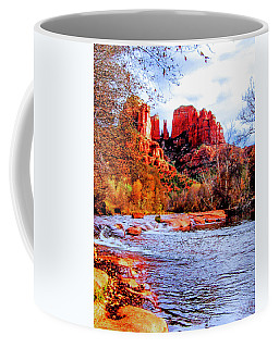 Coffee Mug featuring the photograph Cathedral Rock by Howard Bagley