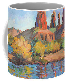 Moonrise Cathedral Rock Sedona Coffee Mug
