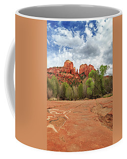Coffee Mug featuring the photograph Cathedral Rock Sedona by James Eddy