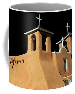 Coffee Mug featuring the photograph St Francis De Assi Church  New Mexico by Bob Christopher
