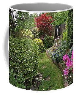 Cathy's Garden - A Little Slice Of England Coffee Mug by Gill Billington