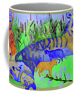 Cats And A Fiddle Coffee Mug