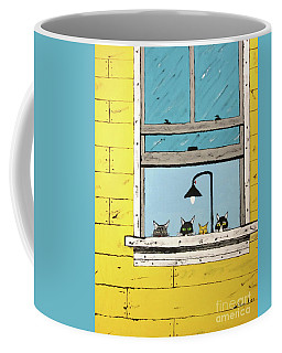 Cats Daydreaming Coffee Mug