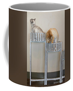 Cats In Baskets Coffee Mug