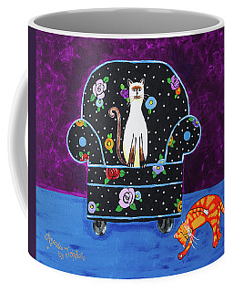 Cats Just Wanna Have Fun Coffee Mug