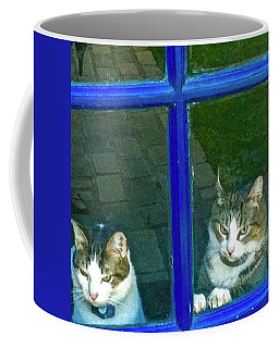Cats On Baylor Street Coffee Mug