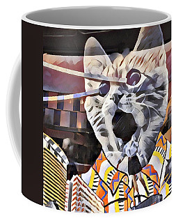 Cats On Congress Coffee Mug