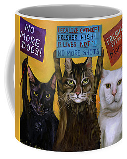 Cats On Strike 2 Coffee Mug