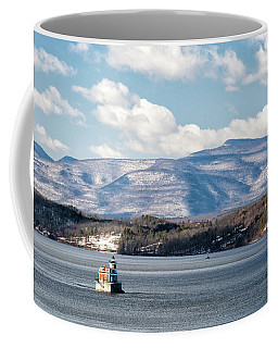Catskill Mountains With Lighthouse Coffee Mug