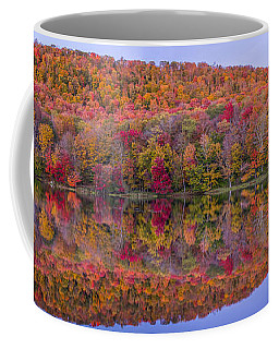Coffee Mug featuring the photograph Catskill Panorama 2 by Mark Papke