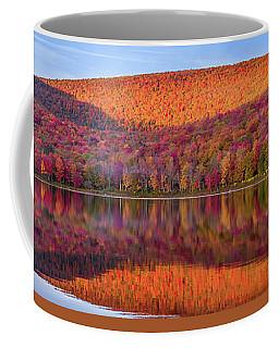 Coffee Mug featuring the photograph Catskills Panorama 1 by Mark Papke
