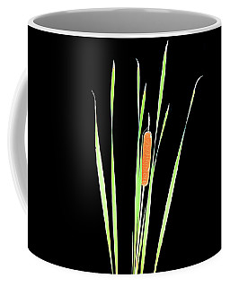 Coffee Mug featuring the photograph Cattail by Kristin Elmquist