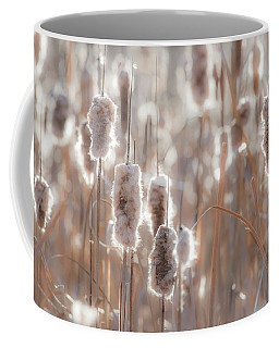 Cattail Light 1 Coffee Mug by Leland D Howard