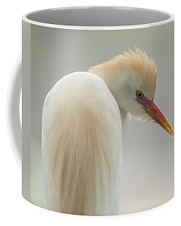 Cattle Egret Profile Coffee Mug