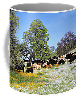 Cattle N Flowers Coffee Mug