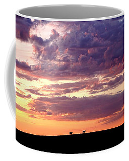 Cattle Ridge Sunset Coffee Mug