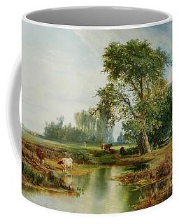 Cattle Watering Coffee Mug