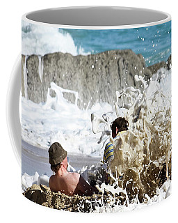 Coffee Mug featuring the photograph Caught From Behind by Terri Waters