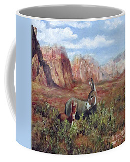 Caught In The Brush Coffee Mug