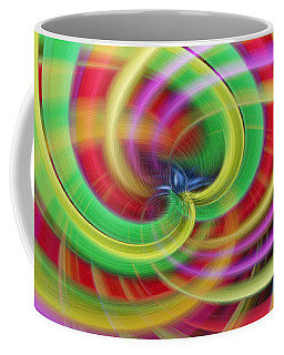 Caught Up In A Colorful Swirl Coffee Mug