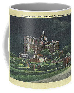 Cavalier Hotel Virginia Beach, Virginia 1940's Coffee Mug