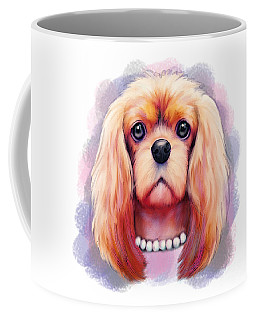 Cavalier Pearls  Coffee Mug by Catia Cho