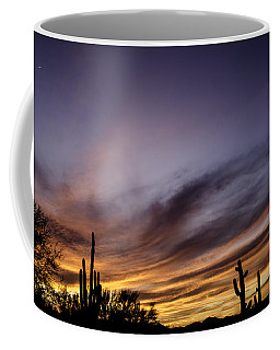 Coffee Mug featuring the photograph Cave Creek Arizona Sunset by Nick Boren